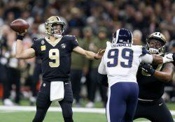 Saints propinan a Rams su primera derrota