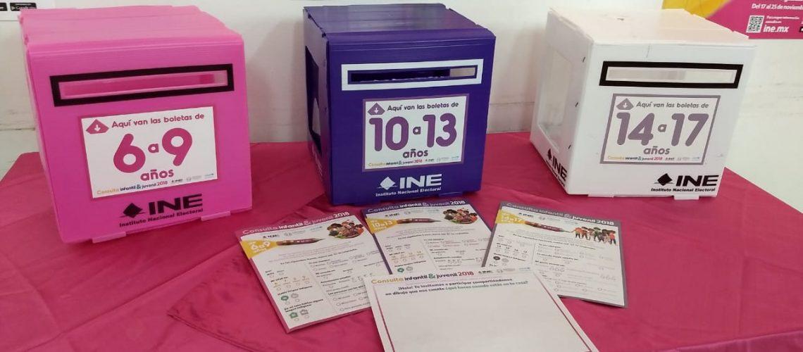 Realizará INE la consulta infantil y juvenil 2018
