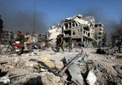 Bombardeo de EU y aliados en Siria deja al menos 43 muertos