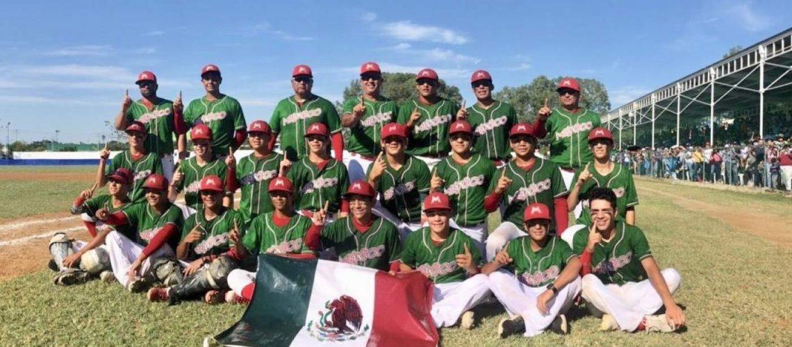 México, campeón panamericano sub 14 de beis