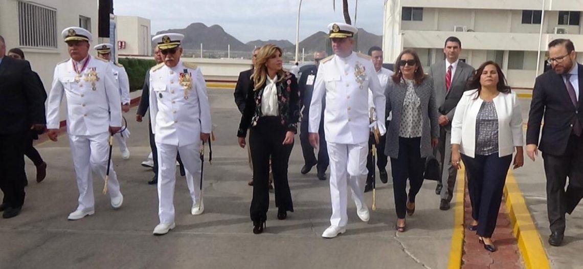 Realiza Secretaria de Marina cambio de mando de Armas