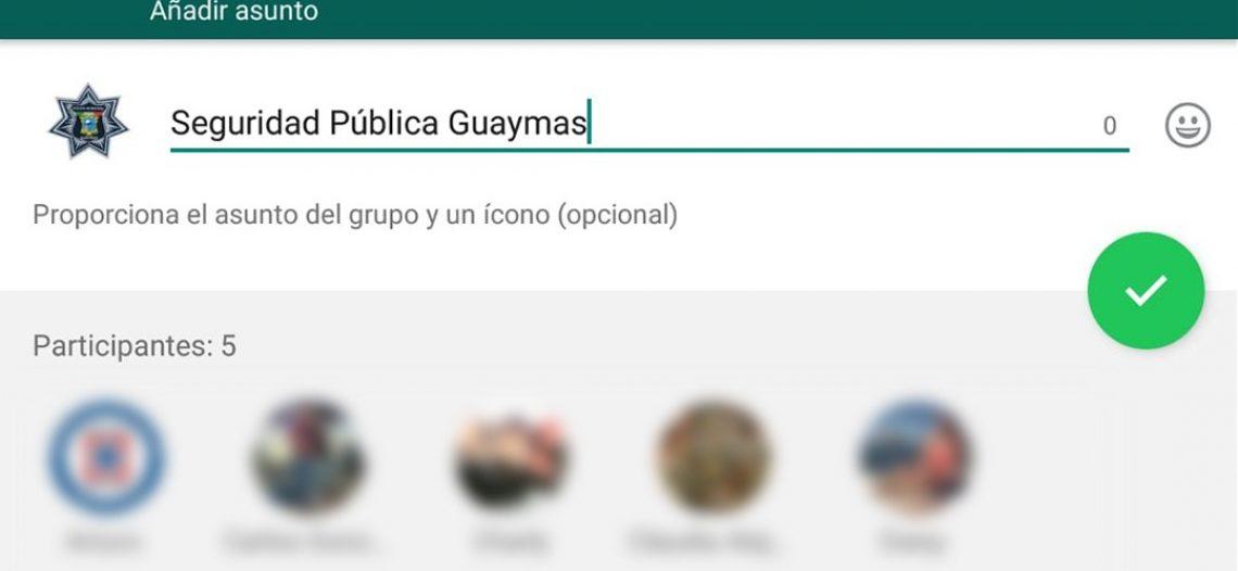 Reactiva DSPM grupos de WhatsApp en las colonias