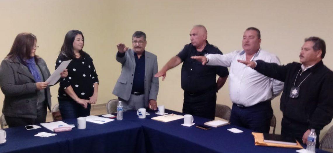 Integran junta de honor y comité ciudadano de seguridad pública
