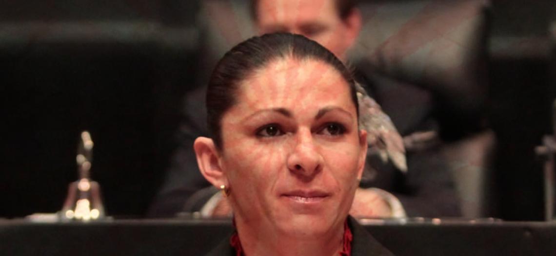 Ana Guevara vive su primera crisis política en el PT
