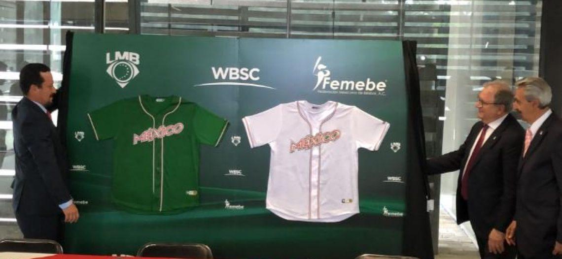 Presentan uniforme de la Selección Mexicana de béisbol