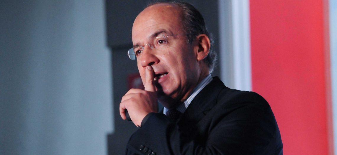 Que exhiban pruebas o que se callen: Calderón a Bartlett