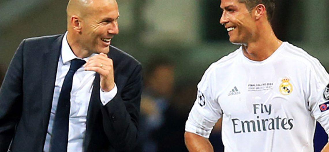 Zidane no está sorprendido por el triplete de Cristiano con la Juventus