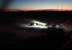 Encuentran a mujer ejecutada en el desierto de SLRC