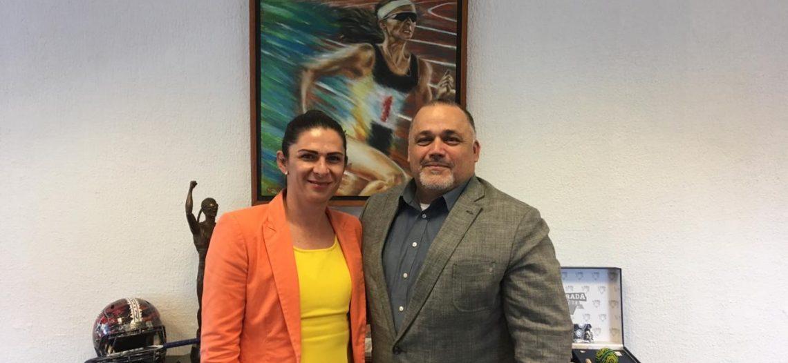 Sostiene alcalde Genesta productiva reunión con Ana Gabriela Guevara