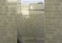 ISAF pide indemnización a ex servidores públicos