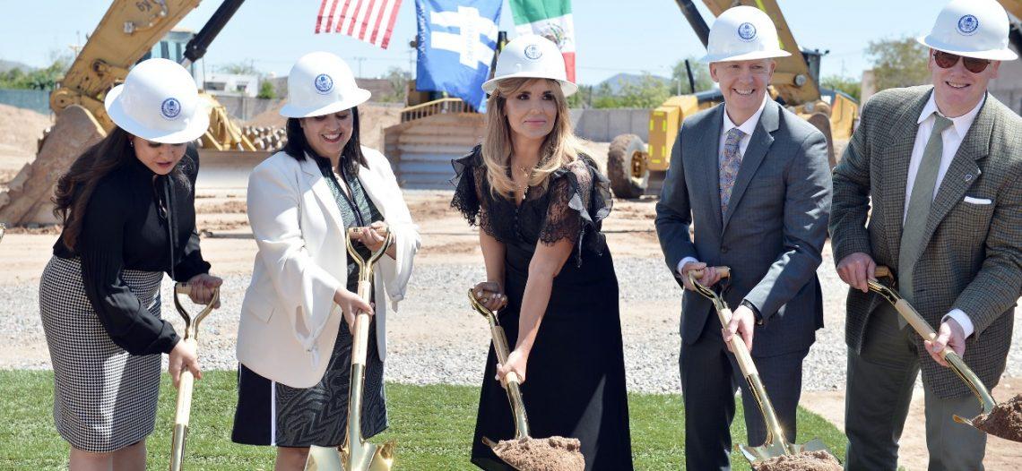Atestigua Gobernadora inicio de construcción de nuevo Consulado de los Estados Unidos en Hermosillo