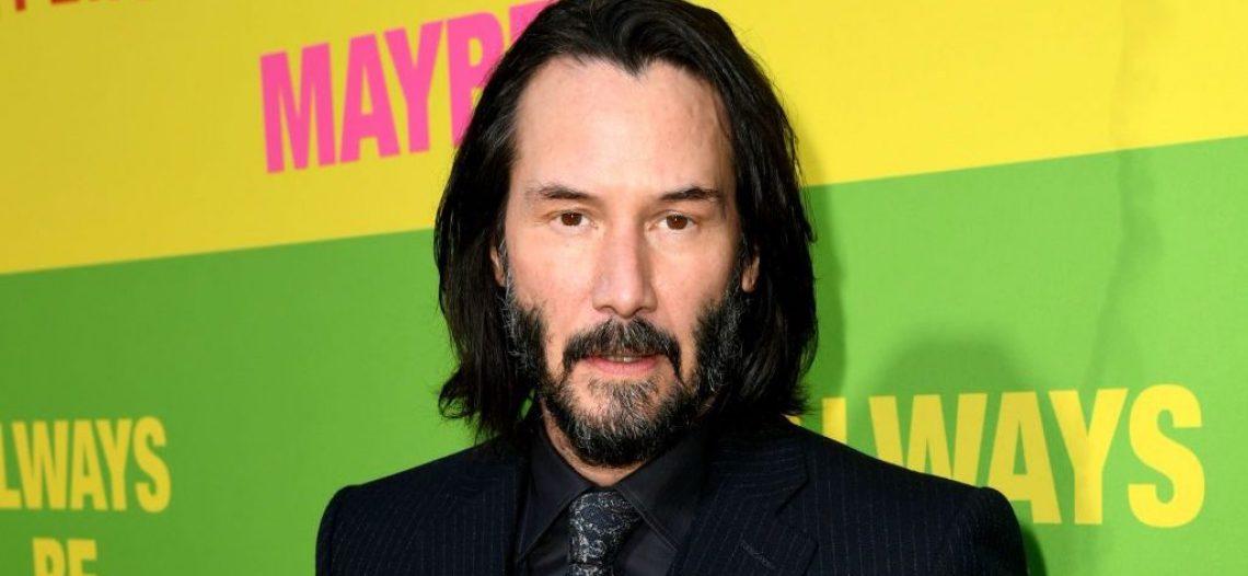 Marvel quiere a Keanu Reeves en 'Los Eternos' junto a Jolie