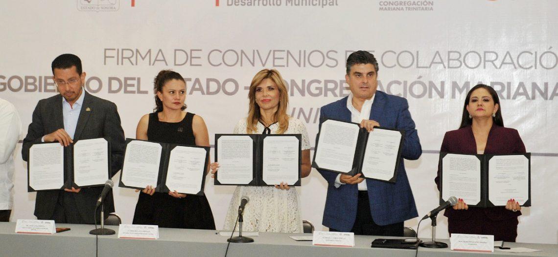 Se fortalece trabajo unido para mayor beneficio de sonorenses: Gobernadora