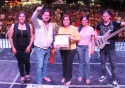 Un éxito Paco Rentería y Mariachi de Secretaría de Marina en Festival Mar Bermejo