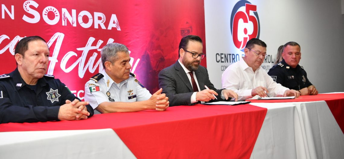 """Firman convenio Cofetur y SSP para implementación de Policías en Sonora con Actitur"""""""