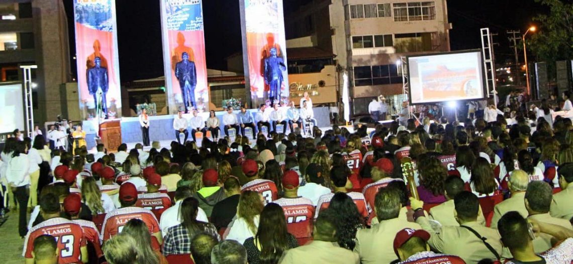 Participa Alcaldesa en inauguración de la XXV edición de Eventos Culturales del SNTE 28