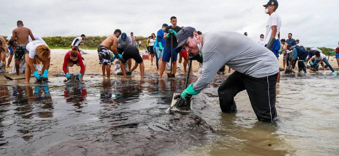 Desastre ambiental en Brasil por derrame petrolero