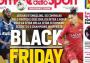 Medio italiano muestra racismo en su portada previo al Inter-Roma