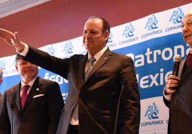 Reeligen a Gustavo de Hoyos Walther como presidente nacional de Coparmex