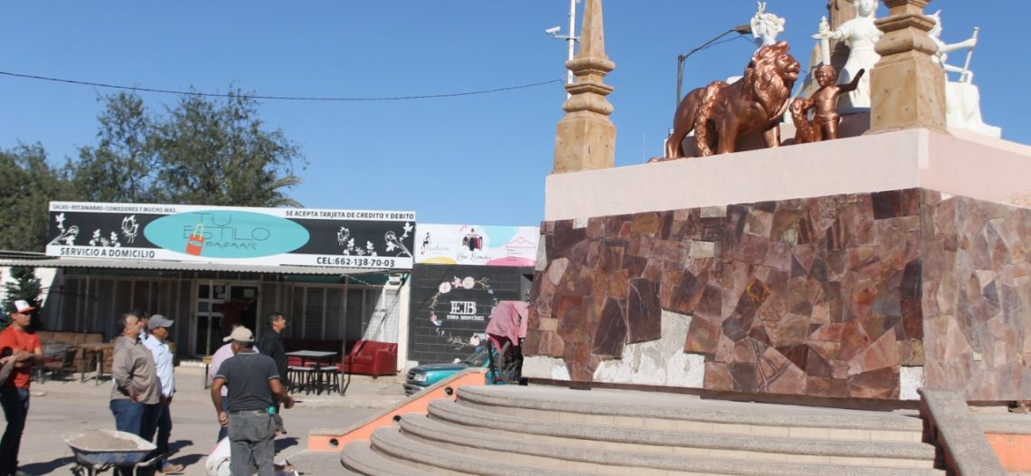 Supervisa alcalde restauración de Monumento del Ángel de la Independencia