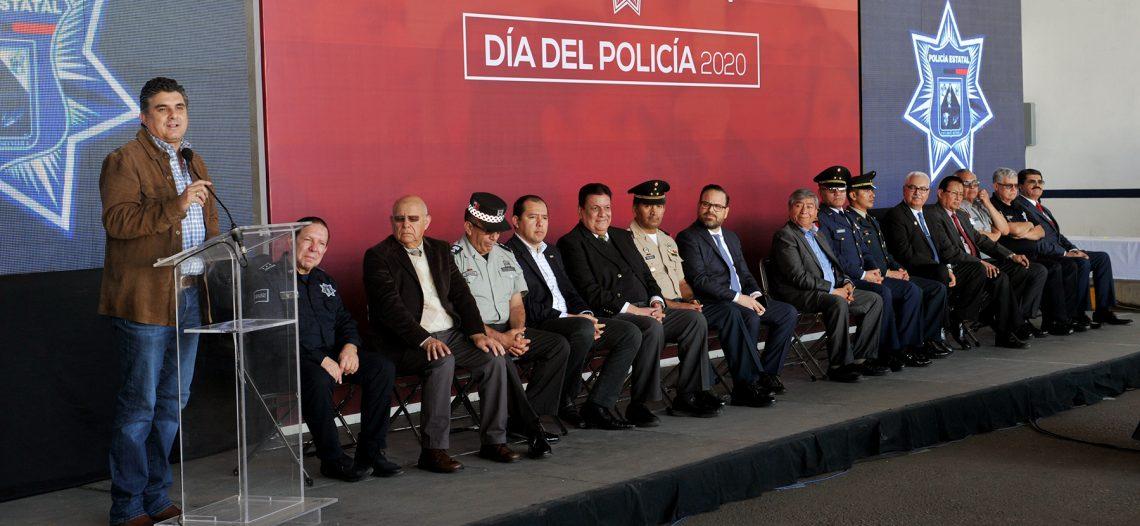 Reconoce Secretario de Gobierno a Policías Estatales
