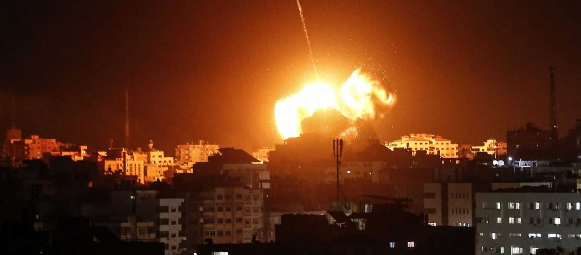 Israel bombardea objetivos de Hamas en la Franja de Gaza