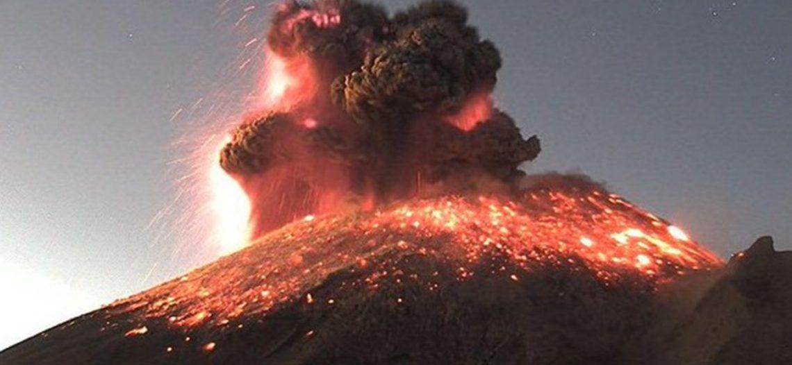 De nuevo el nerviosismo: el Popocatépetl amanece con erupción