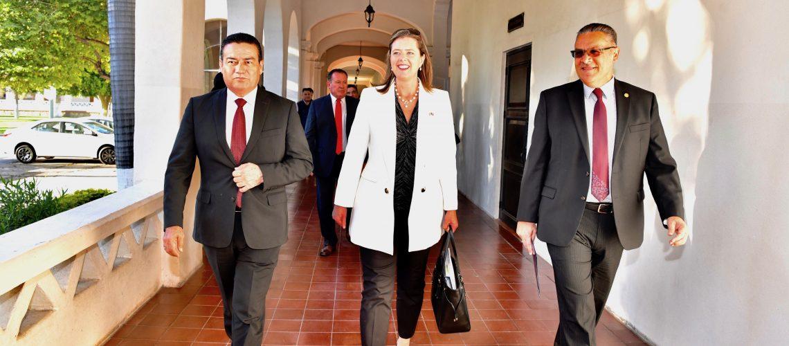 Realiza Embajadora de Reino Unido gira por Sonora