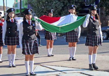 H. Ayuntamiento conmemoró el Día de la Bandera