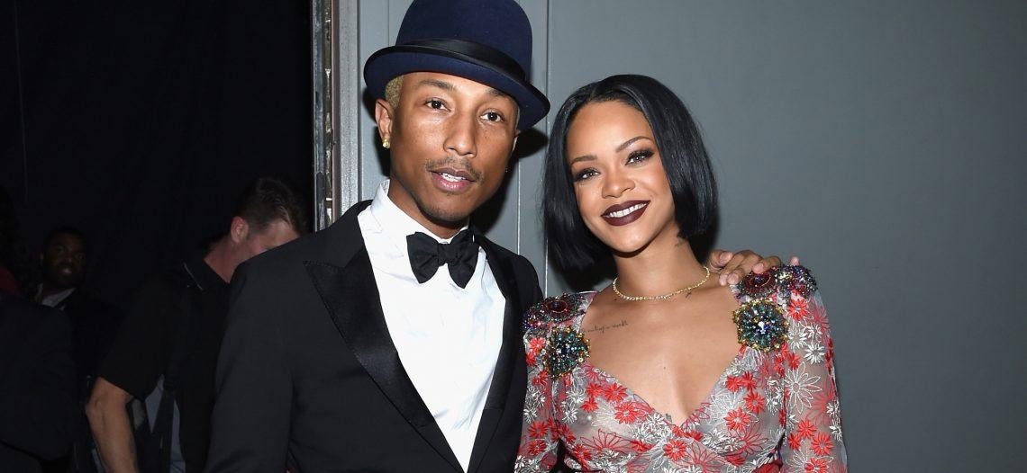 Rihanna prepara nuevo álbum en colaboración con Pharrell Williams