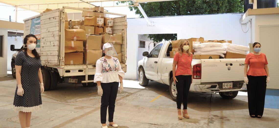 Entrega Gobernadora Pavlovich apoyo para familias vulnerables