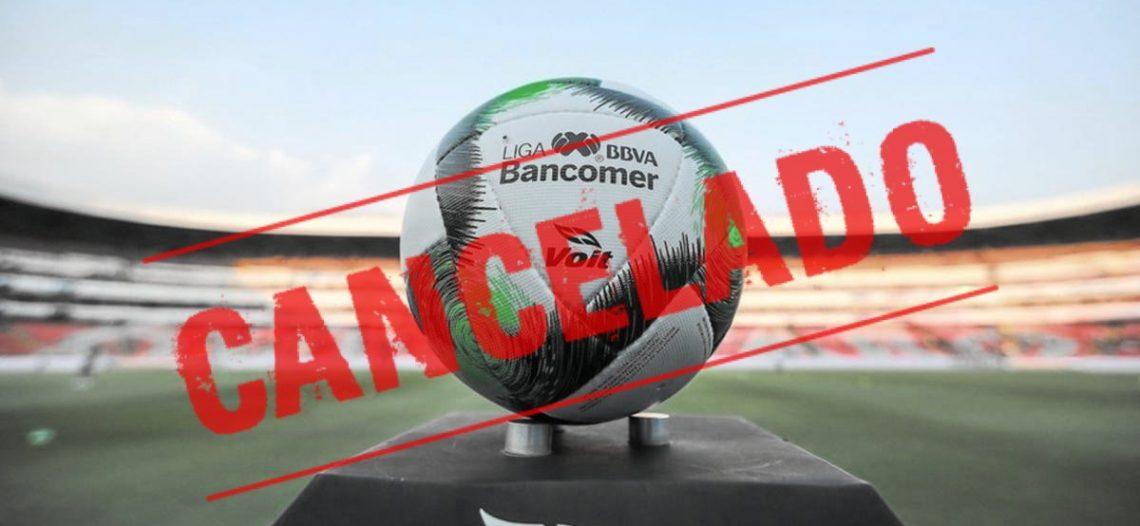 Se cancela el torneo Clausura 2020 de la Liga MX