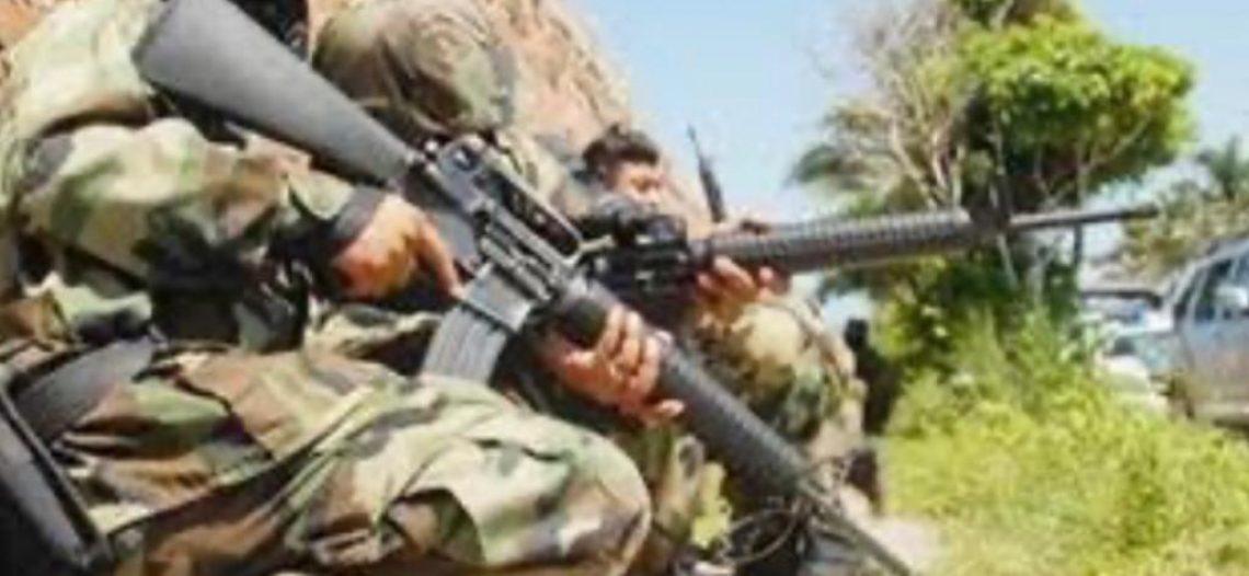 Chocan militares y sicarios en Sonoyta