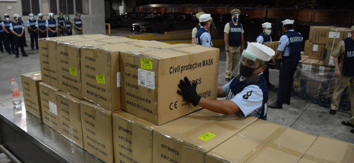 Apoya Semar por el COVID-19; despliega 12 mil elementos para la seguridad pública