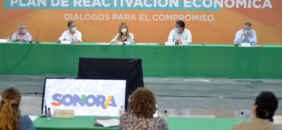 Acuerdan Gobernadora y empresarios corresponsabilidad en Reactivación Económica