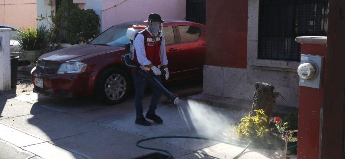 Realiza Coves más de 3 mil sanitizaciones de viviendas