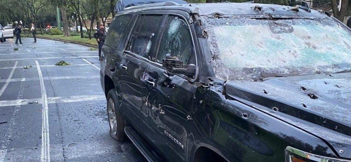 Hieren en atentado al secretario de Seguridad de la CDMX