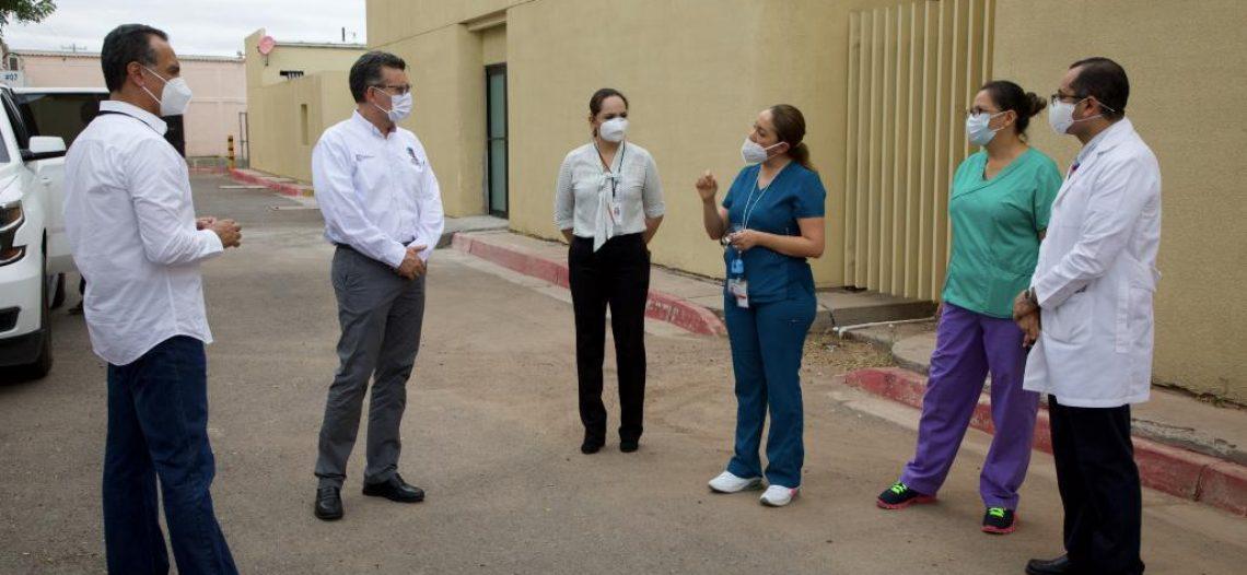 Crece capacidad hospitalaria en Navojoa para pacientes COVID: Enrique Clausen