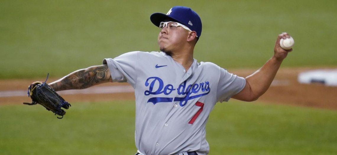 Urías y los Dodgers reaccionan y apalean a los Bravos