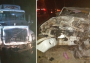 Se registra fuerte accidente en carretera Estatal 85