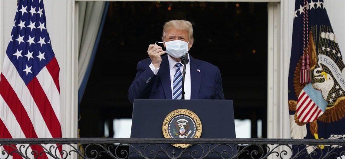 Oficialmente Donald Trump fue declarado negativo de covid-19