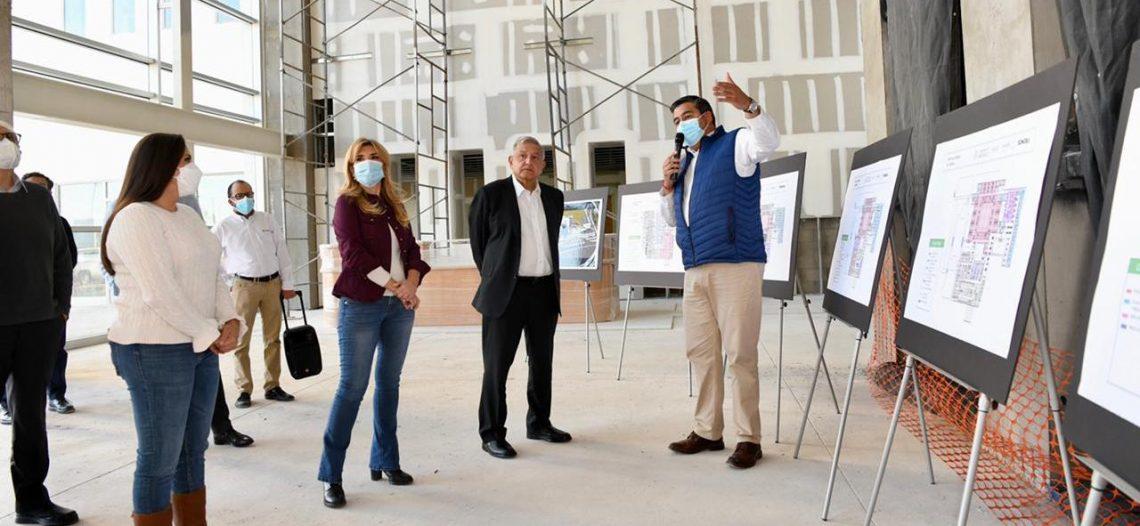 Presidente de la República se compromete a equipar el nuevo Hospital y autorizar subsidio de luz