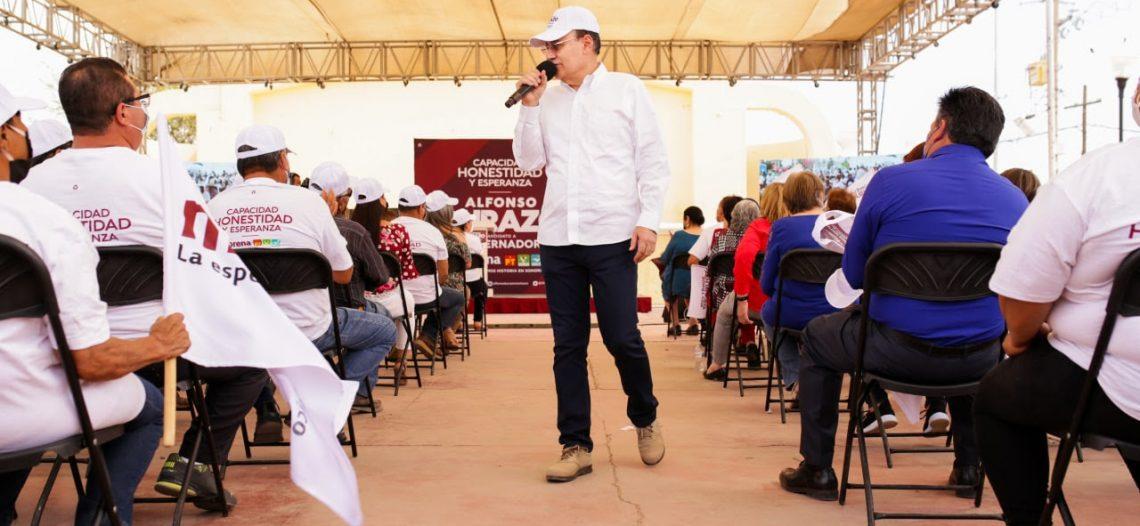 Promoveremos empleos para la región de Altar con el apoyo de empresarios: Alfonso Durazo