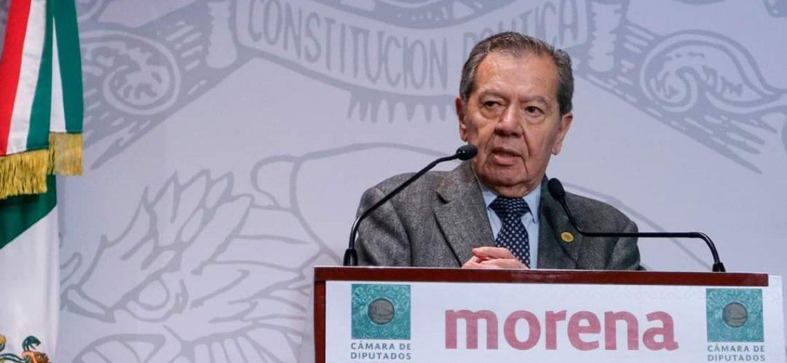 Creará Muñoz Ledo un Frente para defender a autónomos