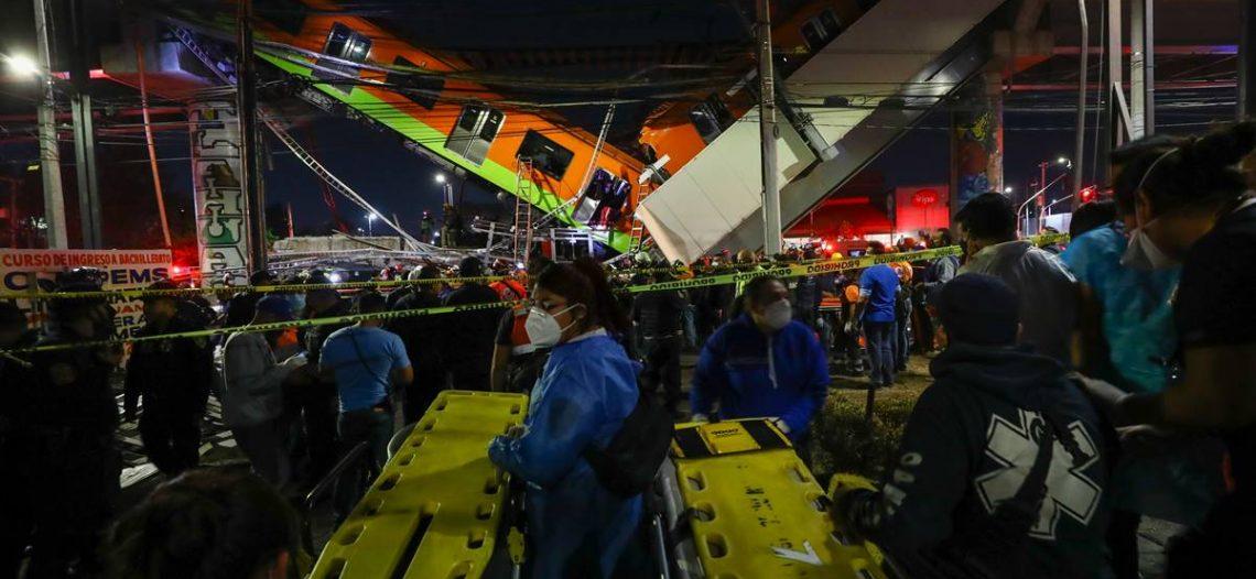 Segob pide investigación tras accidente en Línea 12 del Metro
