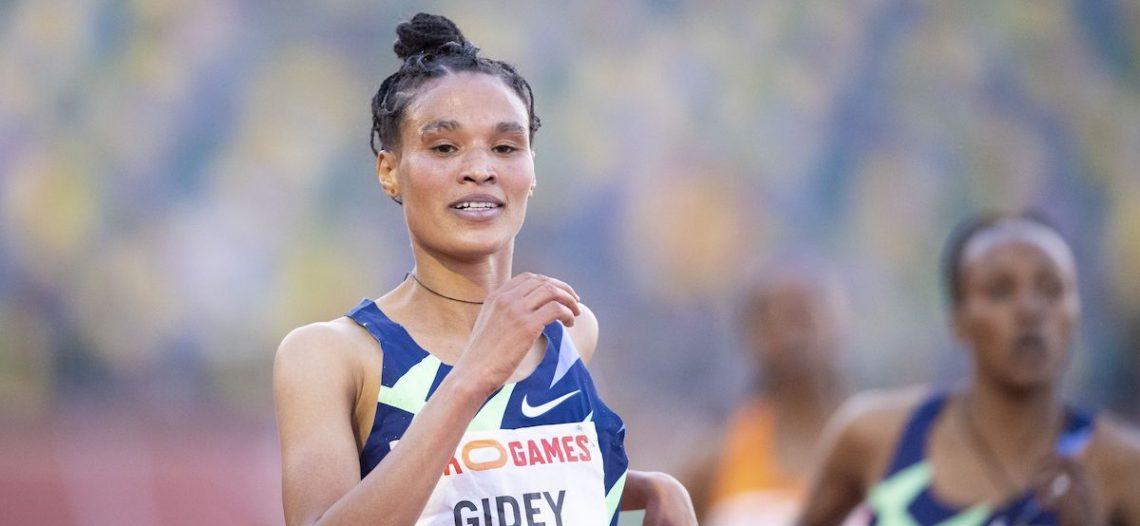 Atleta etíope bate el récord mundial de los 10 mil metros