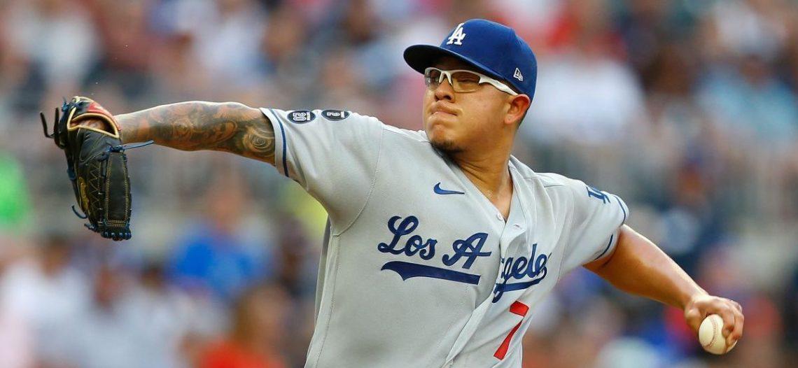 Julio Urías logra su octava victoria de la campaña con Dodgers