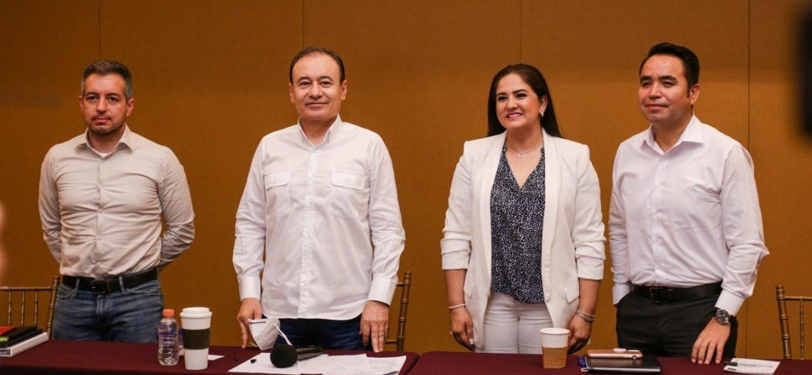 Célida y Aguilar Castillo, al equipo de transición