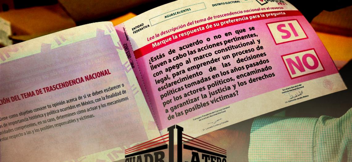 93.5 millones de papeletas para la consulta y Guaymas en semáforo rojo
