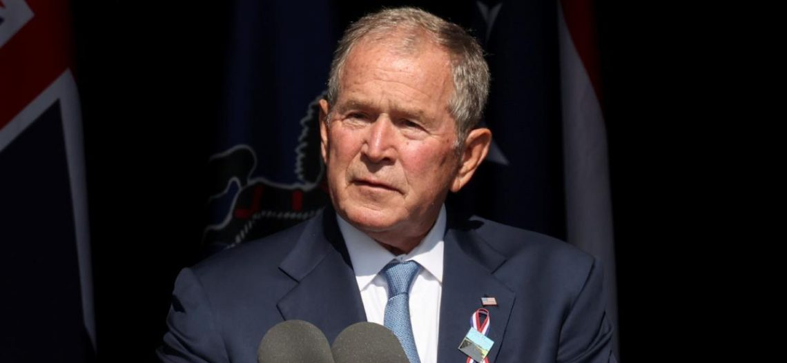 George W. Bush lamenta desunión de EU al conmemorar el 11-S